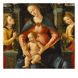 Madonna and Child Print by  Italian School