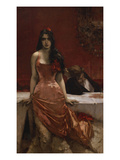 Circe - the Temptress Giclee Print by Charles Hermans