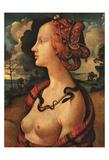 Portrait of Simonetta Vespucci, c. 1480 Posters by  Piero di Cosimo