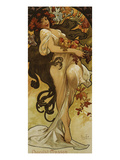 Chocolat Masson - Spring Prints by Alphonse Mucha