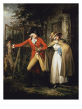 The Story of Laetitia: the Elopement Print by George Morland