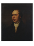 Portrait of the Rev. John Thomson, Minister of Duddingston, Half Length in a Black Coat and White Giclee Print by Sir Henry Raeburn