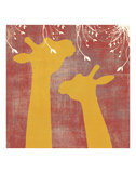 Giraffe Posters by Erin Clark