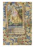 St John on Patmos. Book of Hours, Use of Paris, in Latin Print