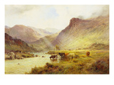 The Banks O&#39;Doune Giclee Print by Sr., Alfred De Breanski