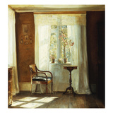 The Artist's Home at Lyngby Affischer av Carl Holsoe