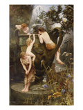 The Fountain of Youth Giclee Print by Charles Napier Kennedy