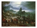 Christ Preaching on the Sea of Galilee Prints by Jan Brueghel the Elder