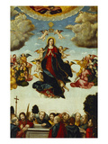 The Assumption of the Virgin Prints by Martin Schaffner (Circle of)