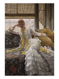Seaside; La Reverie Prints by James Tissot