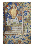 The Last Judgement. Book of Hours, Use of Paris, in Latin Prints