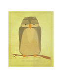 The Sensible Owl Prints by John Golden