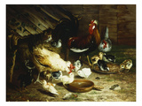 Feeding Time Giclee Print by Ignace Spiridon
