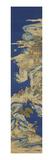 A Chinese Kesi Coloured Silk Panel Depicting Daoist Immortals Premium Giclee Print
