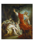 Apollo Slaying Coronis Giclee Print by Johann Zoffany