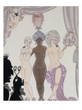 The Three Graces; Les Trois Graces) Giclee Print by Georges Barbier