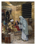 In the Bazaar Giclee Print by Charles Wilda