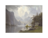 In the Mountains, c.1867 Posters by Albert Bierstadt