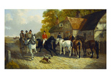 Going to Barnet Fair Giclee Print by John Frederick Herring II