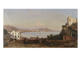 Bay of Naples Giclee Print by Giacinto Gigante