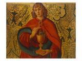 Saint John the Evangelist Art by The Master of Santa Maria del Campo