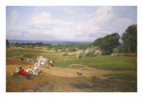 Hampstead's Happy Heath Giclee Print by Sir David Murray