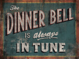 The Dinner Bell Posters by Luke Stockdale