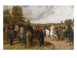 The Horse Fair, Southborough Common Giclee Print by Benjamin Herring I