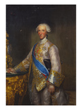 Portrait of the Infante Don Luis Antonio Jaime De Borbon (1727-1785), Wearing a Grey Satin Suit… Giclee Print by Anton Raphael Mengs