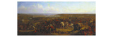 The Allied Generals with the Officers of their Respective Staffs before Sebastopol Premium Giclee Print by Thomas Jones Barker