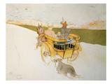 Partie De Campagne Prints by Henri de Toulouse-Lautrec