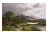 A Welsh Stream Giclee Print by Sidney Richard Percy