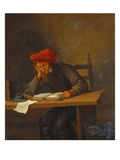 A Youth Reading Giclee Print by Jan Havicksz. Steen Steen (Follower of)