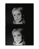 Screen Test: Edie Sedgwick, c.1965 Print by Andy Warhol