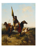 The Lookout Giclée-Druck von Georges Washington