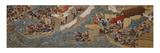 The Conquest of Korea by Empress Jingu Premium Giclee Print by Sumiyoshi Hiroyuki