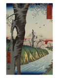 Koganei in Musashi Province, from the Series 'Thirty-Six Views of Mt. Fuji' Giclee Print by Ando Hiroshige
