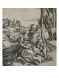 The Ill Assorted Couple Giclee Print by Albrecht Dürer