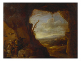 The Temptation of Saint Anthony Print by David Teniers the Younger
