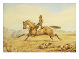On the Scent Giclee Print by Henry Thomas Alken
