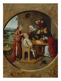 Cutting the Stone, or the Cure of Folly Giclee Print by Hieronymus Bosch