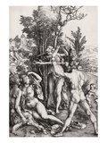 Hercules, or the Effects of Jealousy Giclée-Druck von Albrecht Dürer