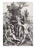 Hercules, or the Effects of Jealousy Giclée-Druck von Albrecht Dürer