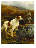 On the Moors Giclee Print by John Sargent Noble