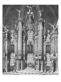 The Art of Organ Building; L'Art Du Facteur D'Orgues Giclee Print by Francois Bedos de Celles