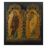 Mother of God and Saint John Giclee Print