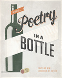 Poetry in a Bottle Prints by Luke Stockdale
