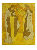 The Two Graces; Les Deux Graces Gicl&#233;e-Druck von Paul Ranson