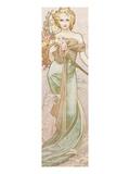 Frühling Kunstdrucke von Alphonse Mucha