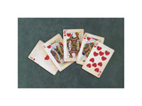 Royal Flush Giclee Print by Lisa Danielle